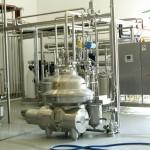 Milchfetteinstellung Zentrifuge
